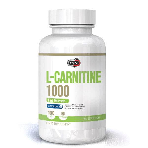 Pure Nutrition L-Carnitine 1000 mg 60caps