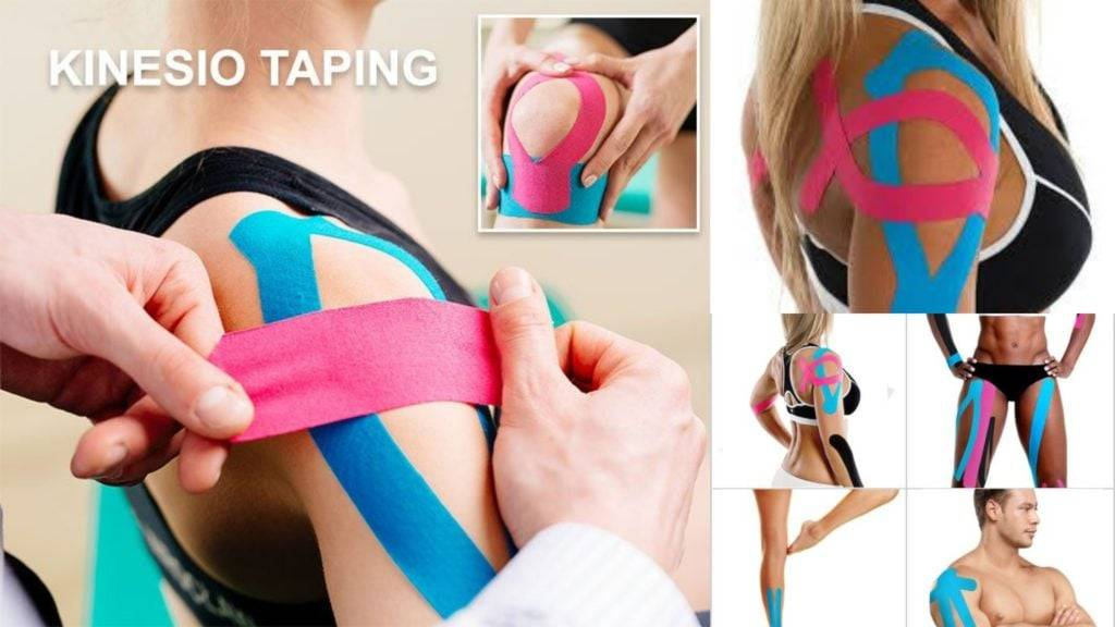 Can we benefit from using kinesiology tapes ?